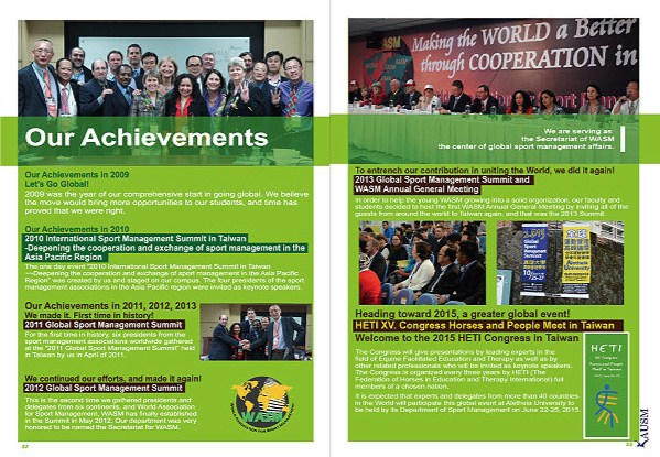 Our Achievements in 2010